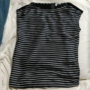 Halogen Sleeveless Striped Top Size S